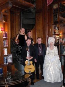 Trianon in Colorado Springs, with special guest Marie Antoinette